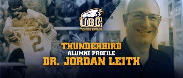 Dr. Jordan Leith featured in UBC Thunderbird Alumni Profile series