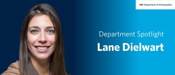 Faculty Spotlight – Lane Dielwart