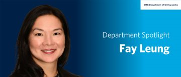 Faculty Spotlight – Fay Leung