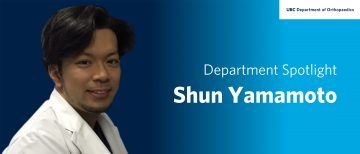 Trainee Spotlight – Shun Yamamoto