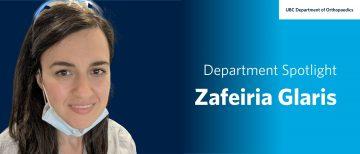 Staff Spotlight – Zafeiria Glaris
