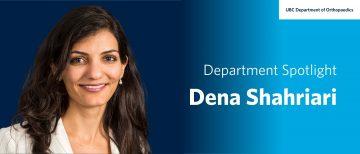 Faculty Spotlight – Dena Shahriari
